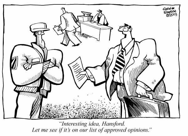 Image credit: Carol Simpson Cartoon
